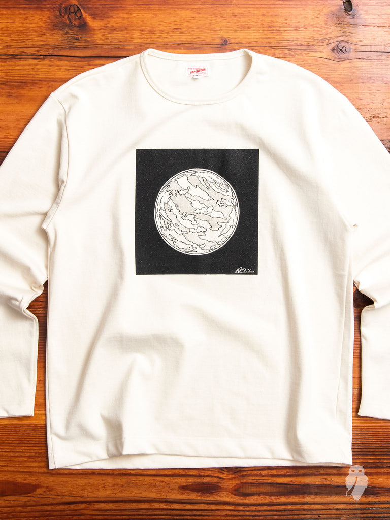 Graphique Long Sleeve T-Shirt in Planet