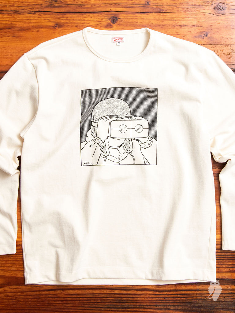 Graphique Long Sleeve T-Shirt in Scope