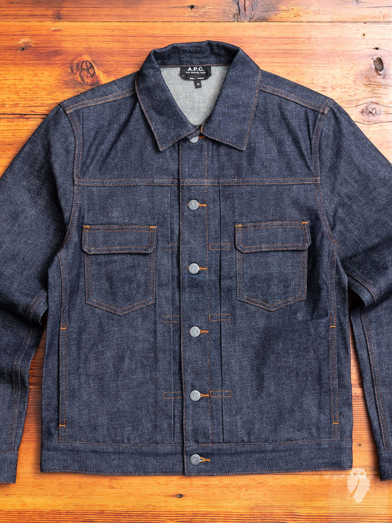 14.5oz Selvedge Denim Jacket