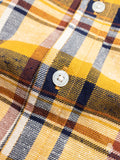 """Jumper Shirt"" in Gold Neppy Plaid"