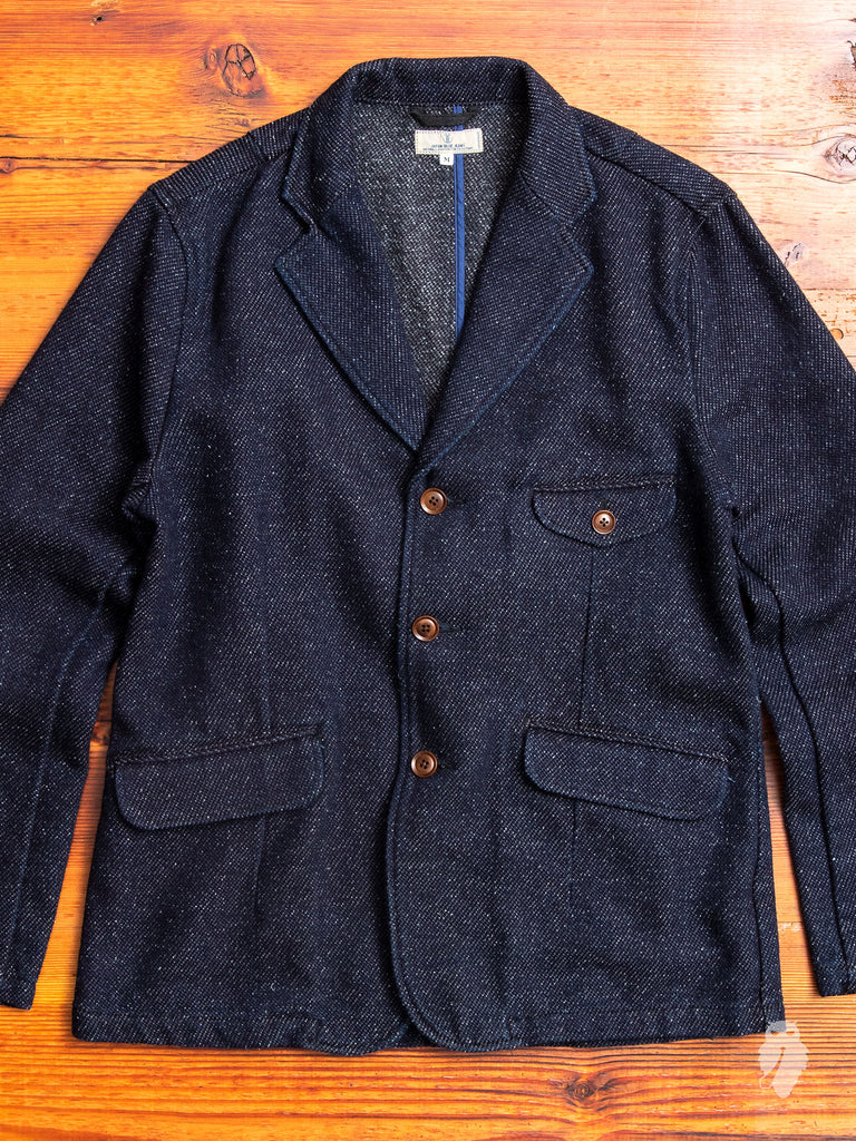 Theatre Jacket in Indigo Tweed