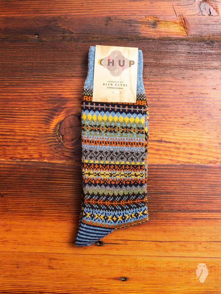 Lampaat Sock in Stone Blue