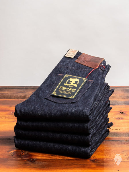"""King of Slub"" 23oz Unsanforized Selvedge Denim - Easy Guy Fit"
