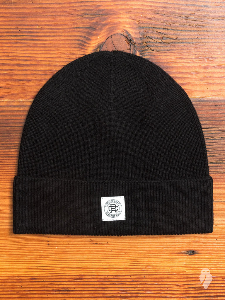 Wool Beanie in Black