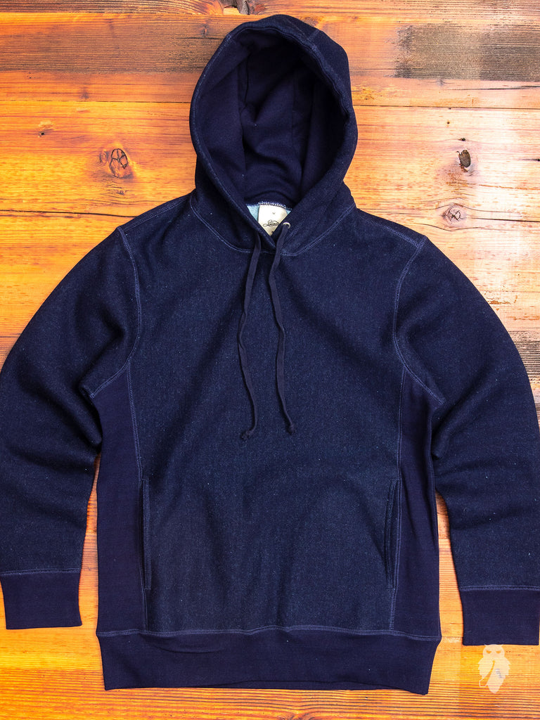 Heavyweight Pullover Hoodie in Indigo – Blue Owl Workshop