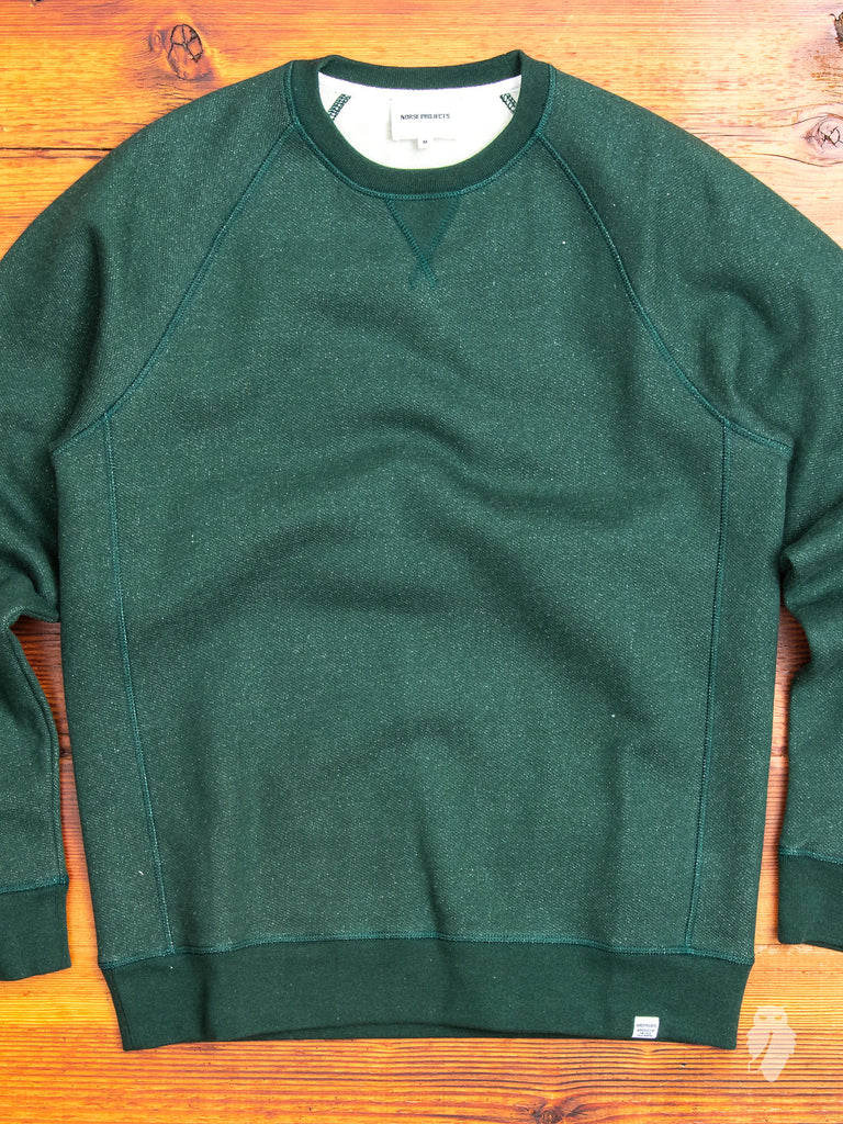 Ketel Crewneck Sweater in Spinnaker Green