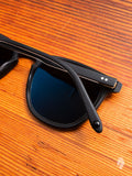 """Brooks"" Sunglasses in Matte Black Polarized"