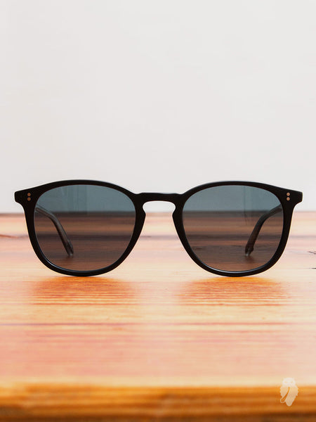 """Kinney"" Sunglasses in Matte Black"