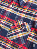Benson Flannel Work Shirt in Vintage Plaid