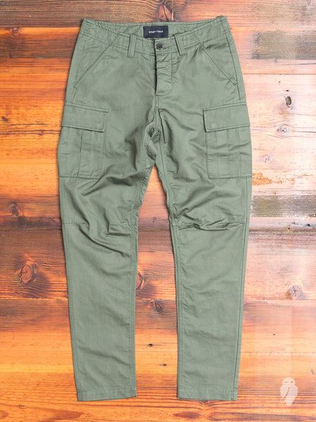 Utility Linen BDU Pants in Olive