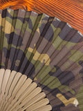 """Master-Piece × Ohnishi Tsune Shoten"" Sensu Fan in Camouflage"