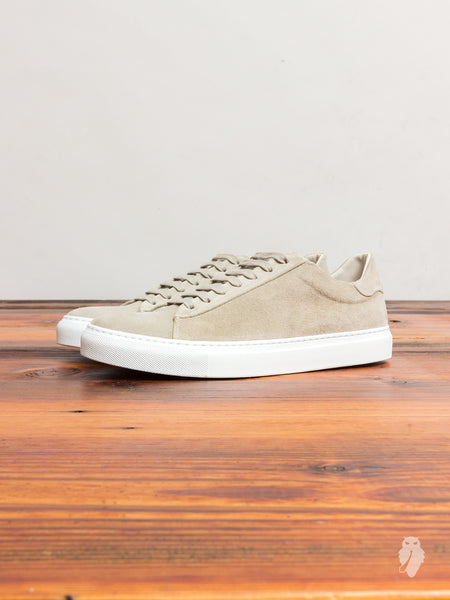 Court Low-Top Sneaker in Clay Suede