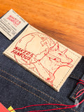 """Chinese New Year Earth Dog"" 12.5oz Selvedge Denim - Super Skinny Guy Fit"