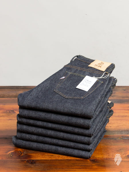 PBE-019 17.5oz Unsanforized Selvedge Denim - Relaxed Tapered Fit