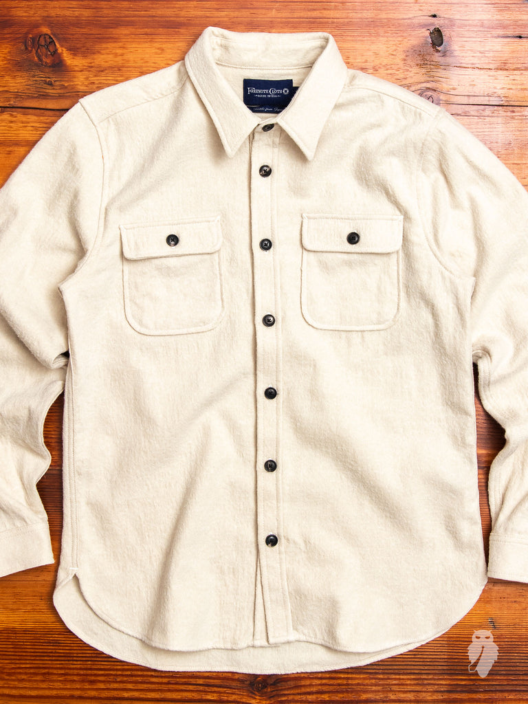 Gilroy Work Shirt in Oatmeal