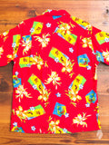 Aloha Camp Shirt in Red