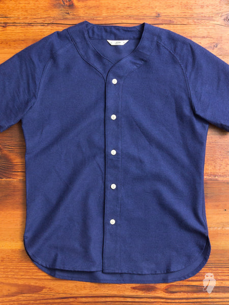 Baseball Shirt in Navy
