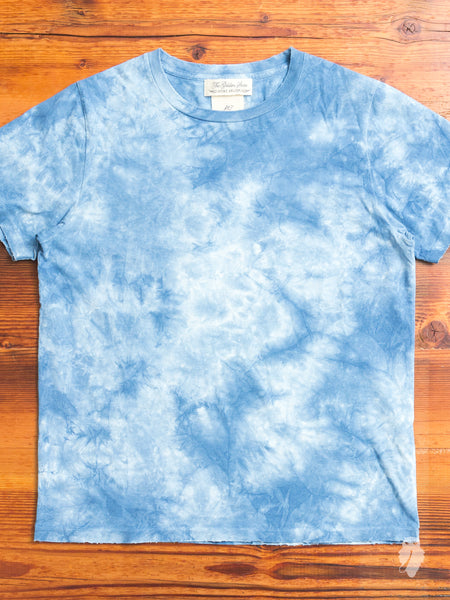 Tie-Dye T-Shirt in Washed Indigo