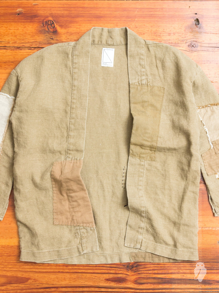 Harvesty Haori Jacket in Beige