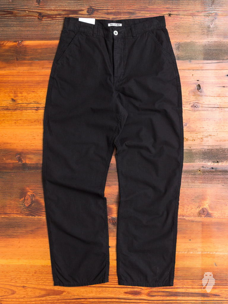 Commando Pants in Washed Ripstop