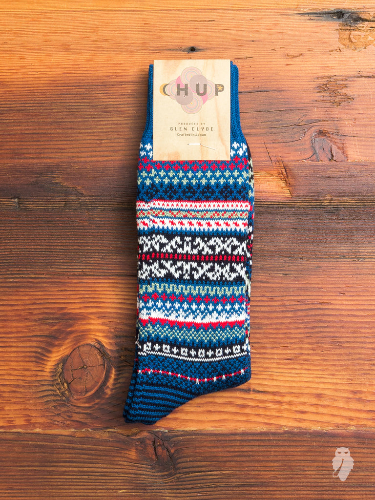 Suomi Sock in Blue