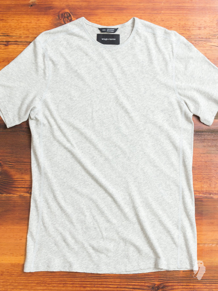Linen Jersey T-Shirt in Natural