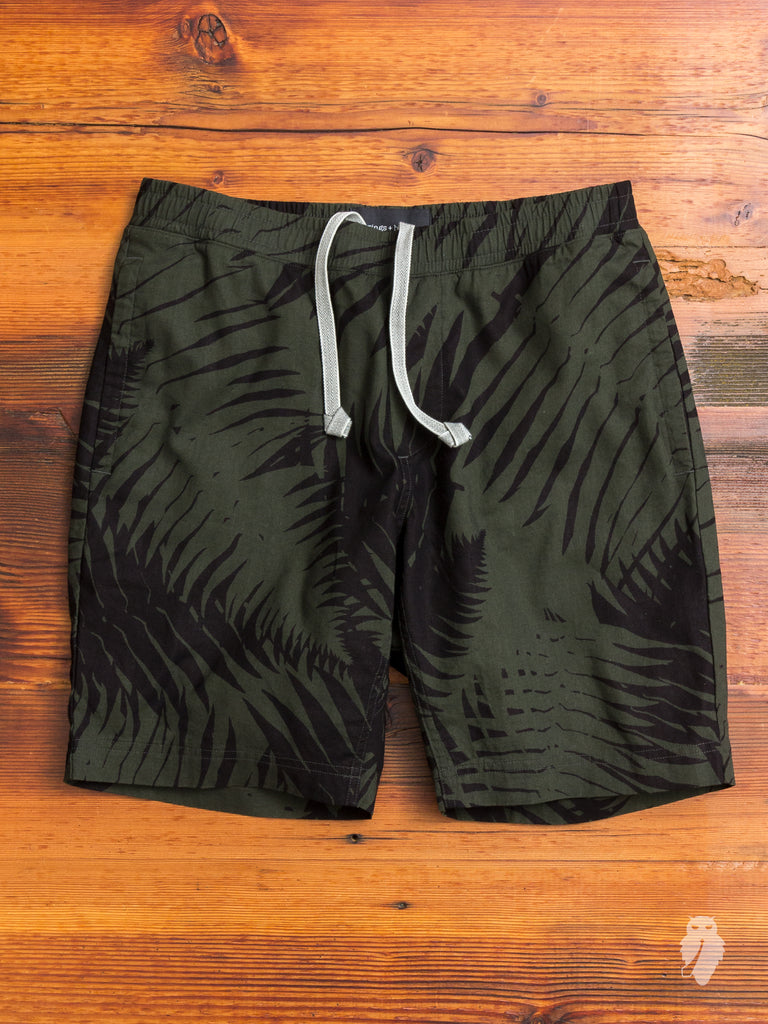 """Sword Fern"" Patrol Shorts in Jungle Green"