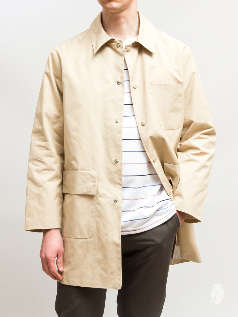 """Geo"" Shell Jacket in Sand"