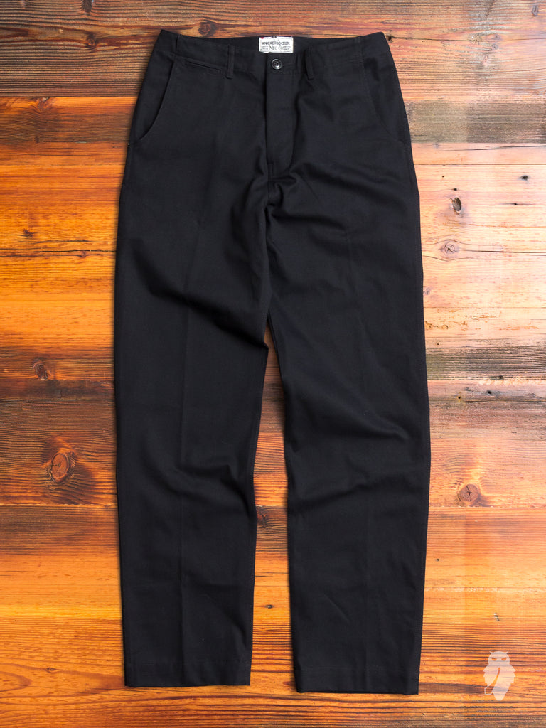 KMFG Chino in Black