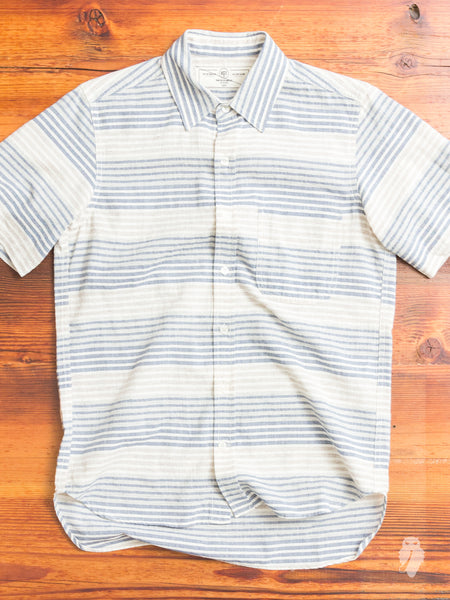 """Jumper Shirt"" in Ocean Stripe"