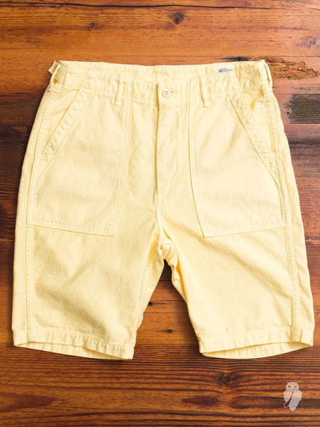 Fatigue Shorts in Yellow