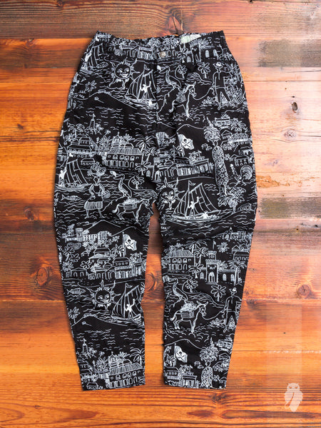 New Yorker Pants in Black