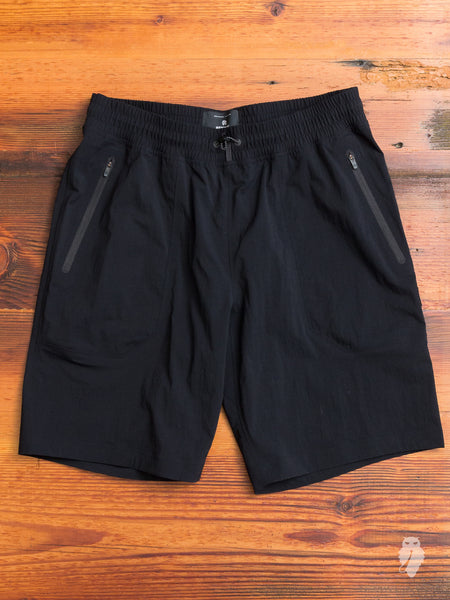 """Sea to Sky"" Stretch Nylon Short in Black"