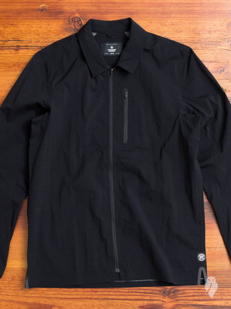 """Sea to Sky"" Wind Shirt in Black"