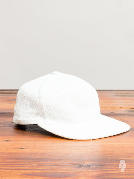 Towel Terry 6-Panel Hat in Salt