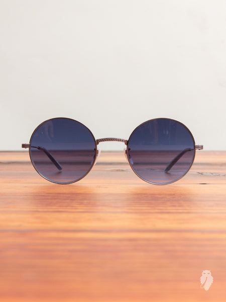 """Seville"" Sunglasses in Sky Blue"