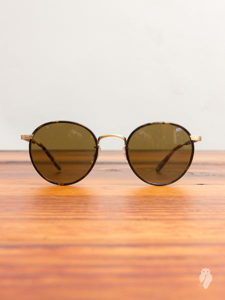 """Wilson"" Sunglasses in Bourbon Tortoise"