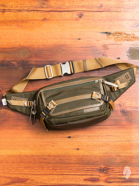 Potential Waist Bag in Olive