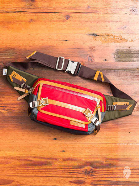 Potential Waist Bag in Red