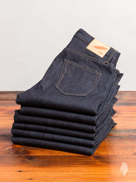 """Proprietary"" 15oz Selvedge Denim in Standard Issue"