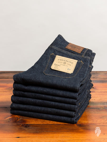 """Portola"" 13oz Selvedge Denim - Tapered Fit"