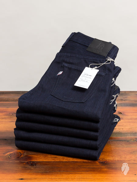 "AI-003 ""Double Natural Indigo"" 17.5oz Unsanforized Selvedge Denim - Slim Tapered Fit"