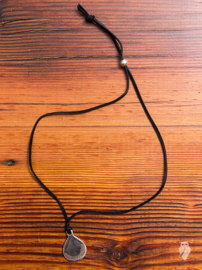 Paddle Necklace in Black