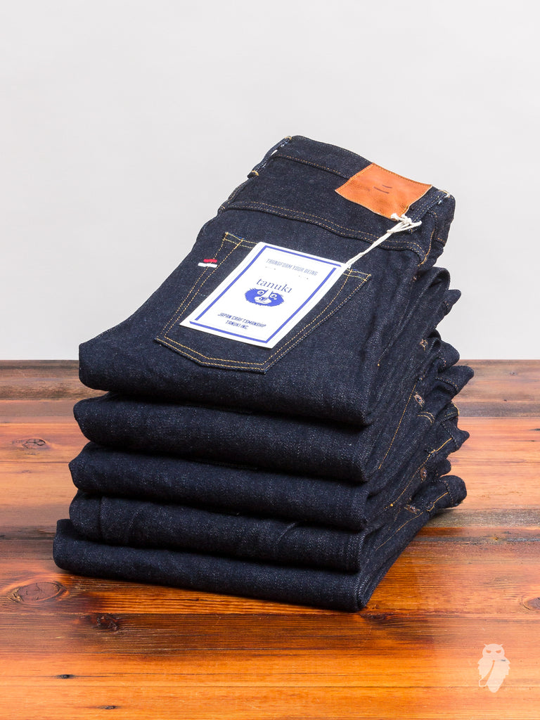 "NSXT ""SEN"" 16.5oz Natural Indigo Stretch Selvedge Denim - Extreme Tapered Fit"