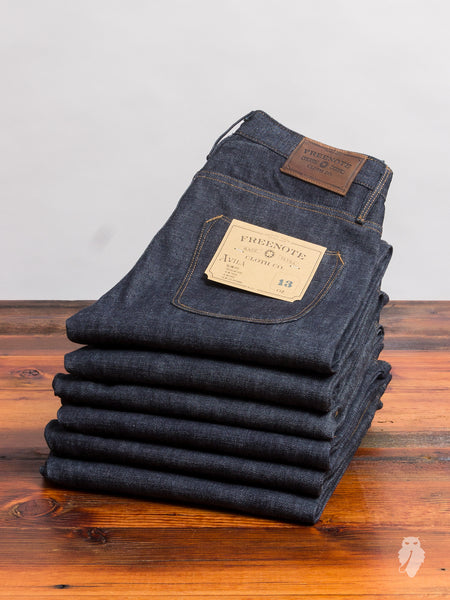 """Avila"" 13oz Selvedge Denim - Slim Tapered Fit"