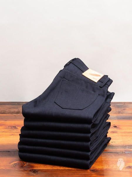 """Double Indigo Slub"" 16.75oz Selvedge Denim in SK"
