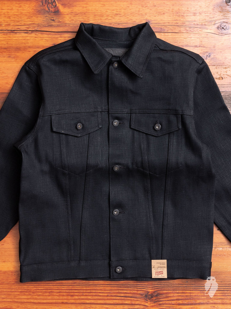 """Elephant 7 - El Diablo"" 20oz Selvedge Denim Jacket"
