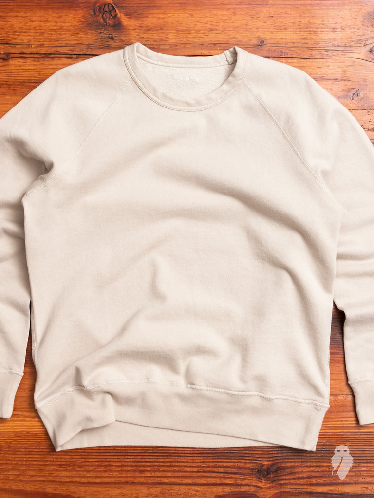 50's Great Reversible Sweater in Silver Nep