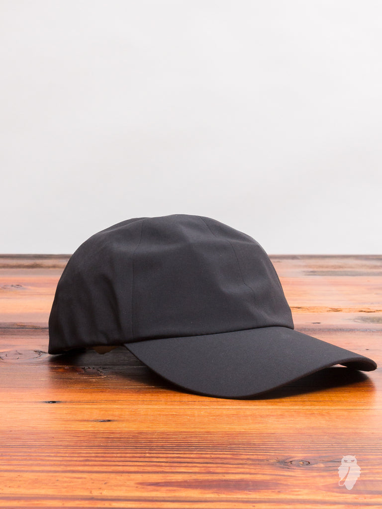 """Sea to Sky"" Performance 6-Panel Hat in Black"