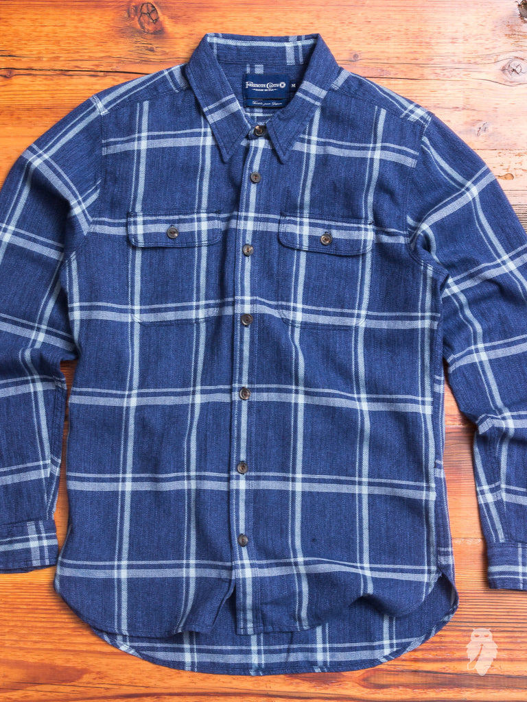 Jepson Work Shirt in Blue Check
